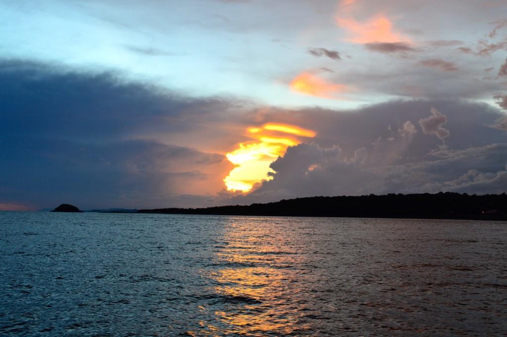 Lago di Kariba, lato Zambia
