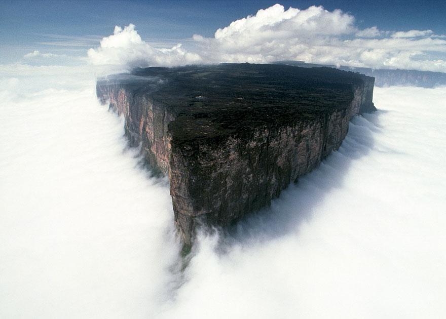 Mount Roraima, confine tra Guyana, Venezuela e Brasile
