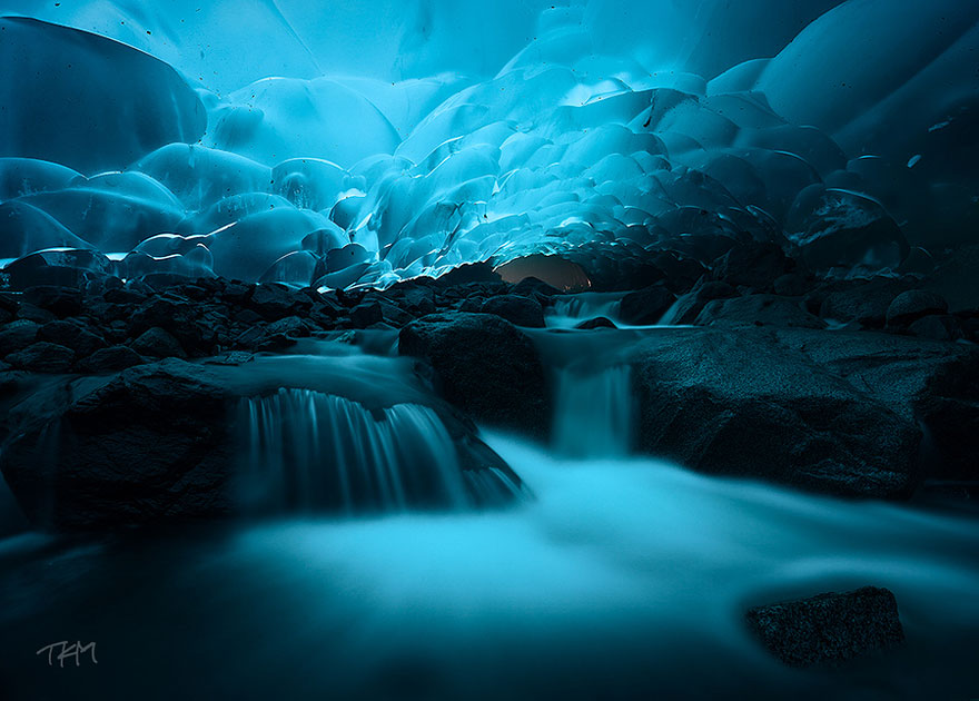 Mendenhall Ice Caves, Juneau, Alaska