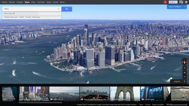 google annuncia le nuove google maps