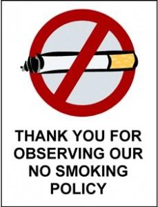 Non date per scontato che si possa fumare ovunque