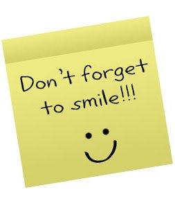 ricordatevi di sorridere