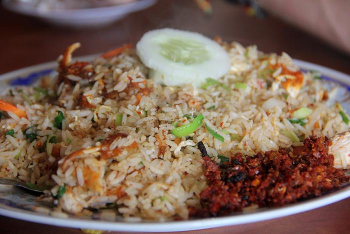 Deep Fried Chicken Fried Rice