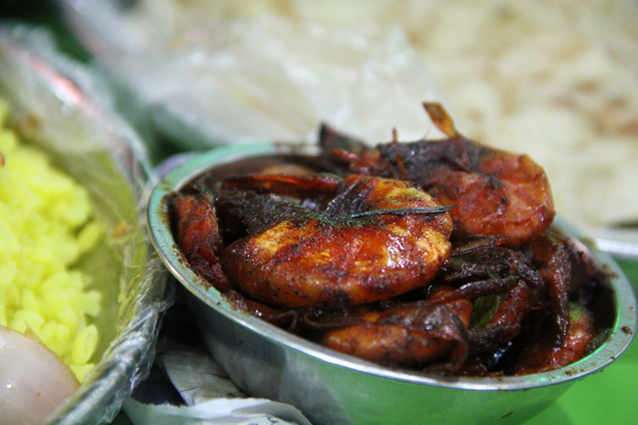 Candied Shrimp Curry