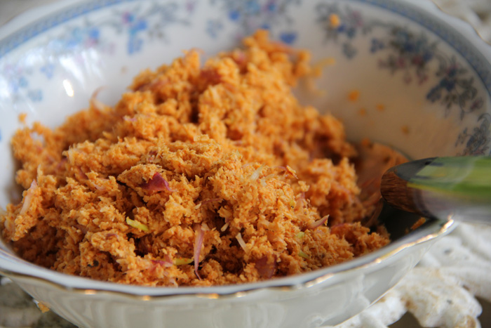 Pol Sambola – Spicy Coconut Garnish