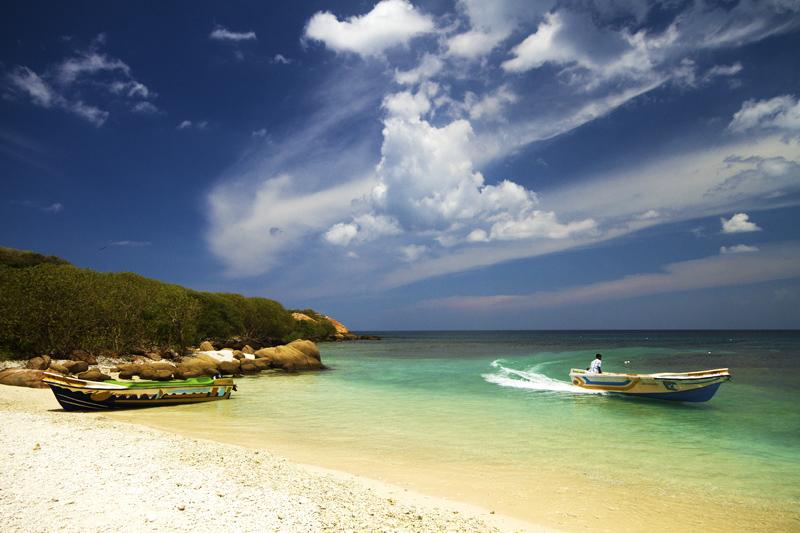 pigeon island trincomalee sri lanka