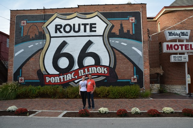 Barbara e Roberto a Pontiac, Illinois