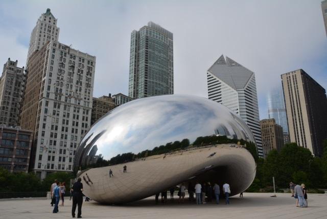 Cloud Gate a Chicago