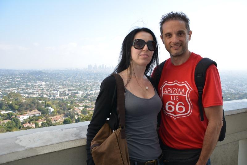 Roberto e Barbara a Los Angeles