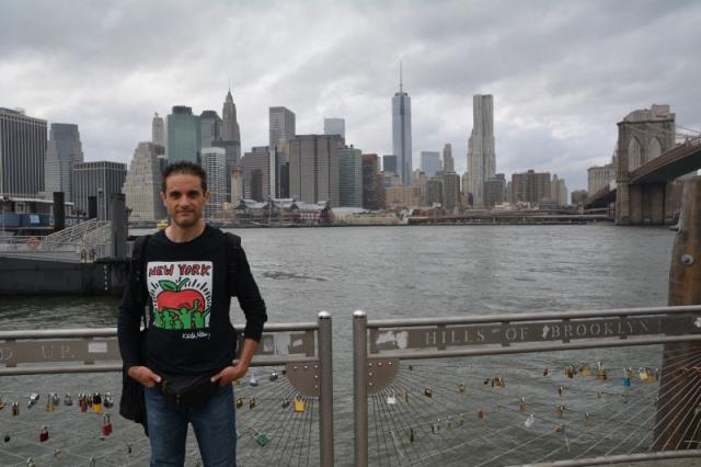 Roberto Rossi a New York City con Reporter Live
