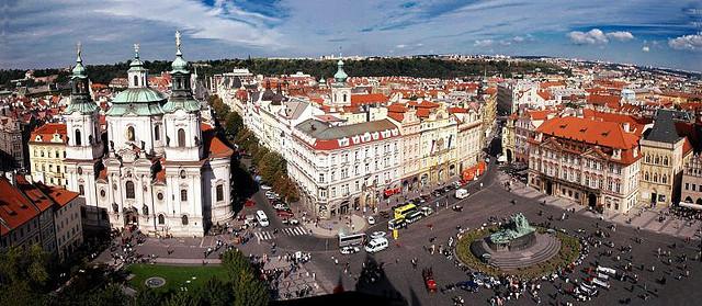 Piazza della Città Vecchia - Praga