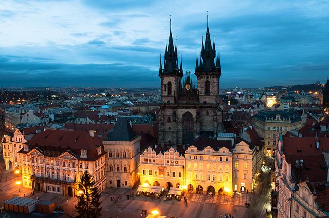 Chiesa di Santa Maria di Týn - Praga
