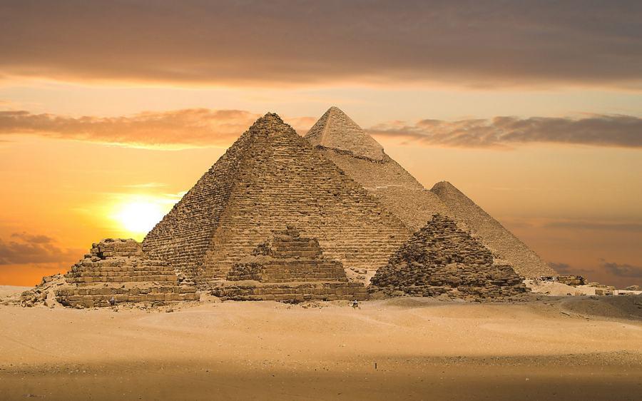 Pyramidi di Giza Egitto