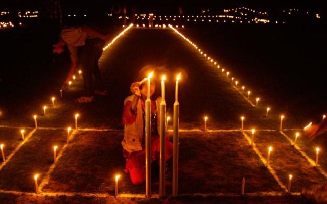 diwali sul campo di cricket