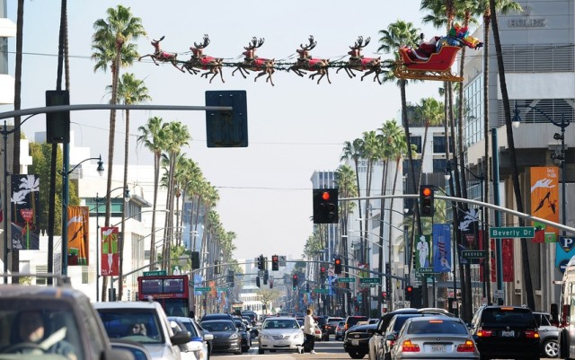 Natale 2013 a Beverly Hills California