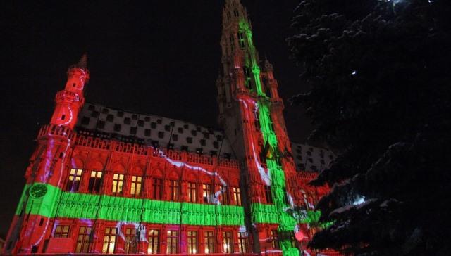 Natale 2013 a Bruxelles in belgio