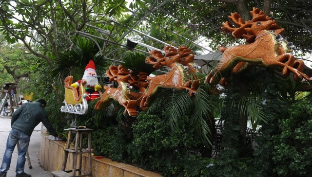 Natale 2013 a Hanoi Vietnam