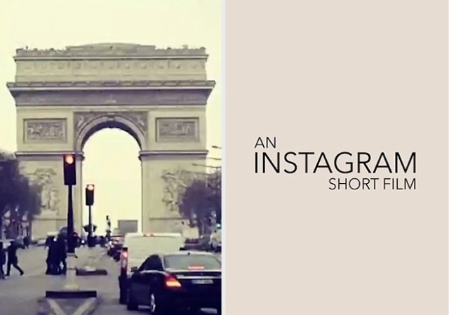 film fatto con foto di instagram