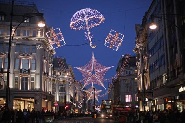 Natale 2013 a Londra uk