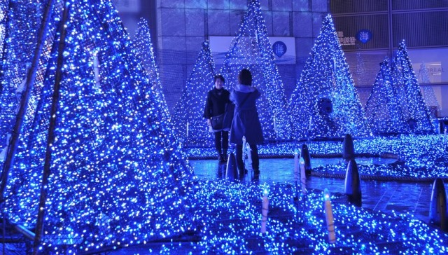 Natale 2013 a Tokyo Giappone