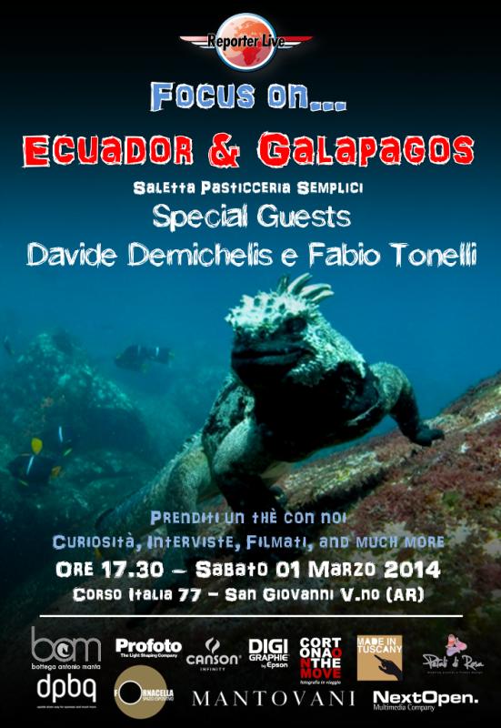 Focus On... Ecuador e Galapagos