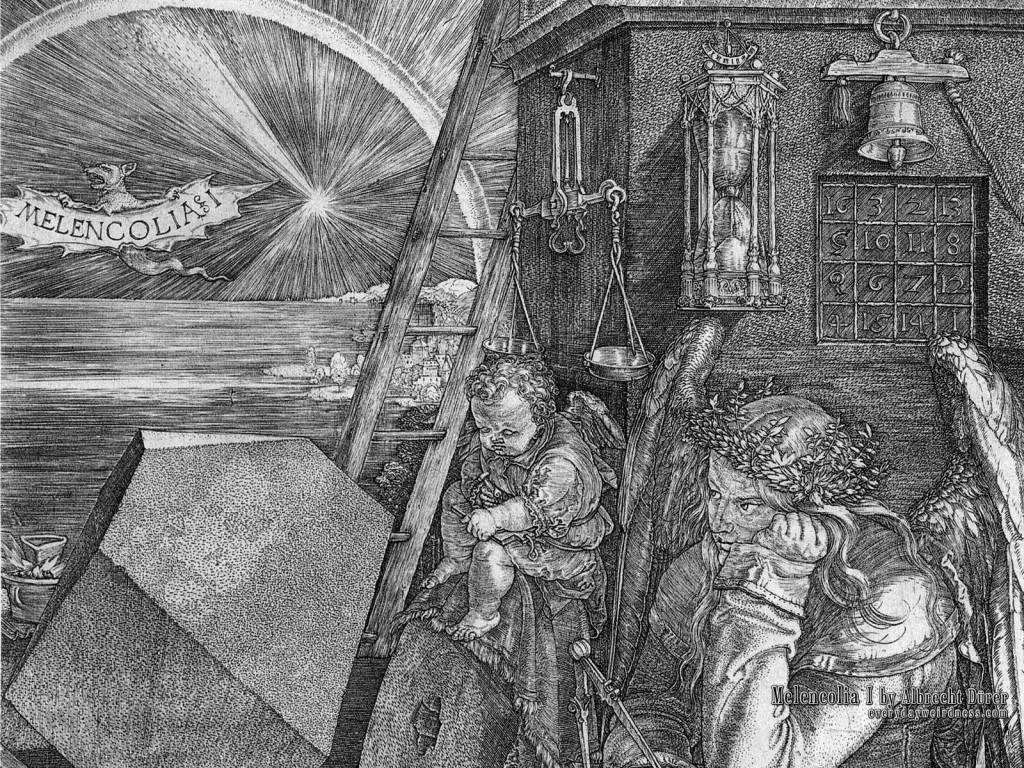 Melencolia 1, di Albrecht Durer (1514)