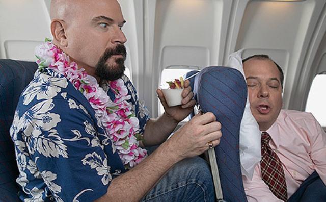 buone norme di comportamento in volo