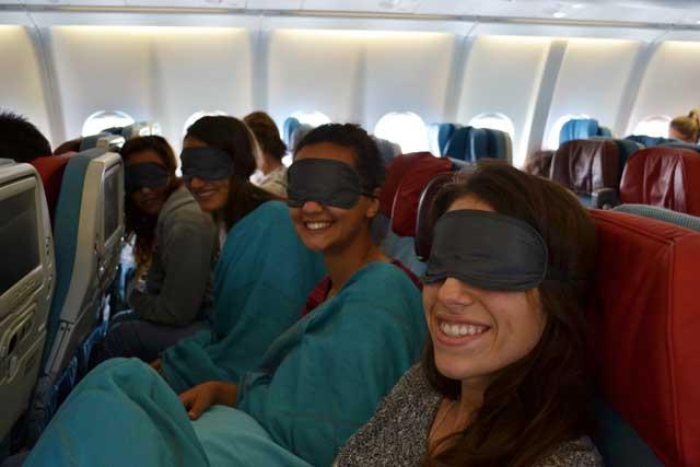 In volo verso lo Sri Lanka