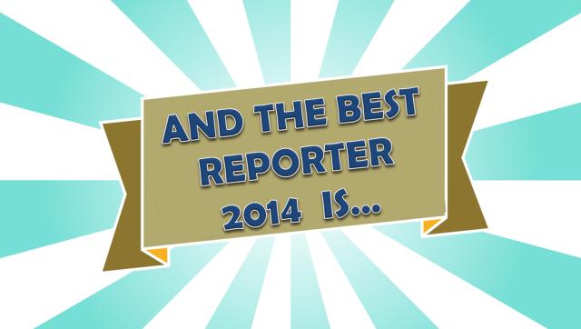 best reporter 2014