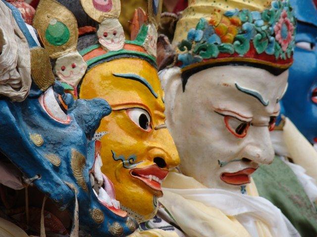 maschera hemis festival