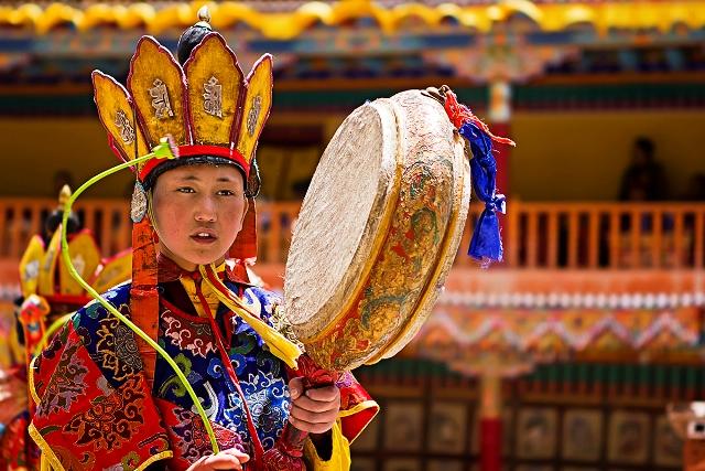 Hemis Festival Leh Ladakh india