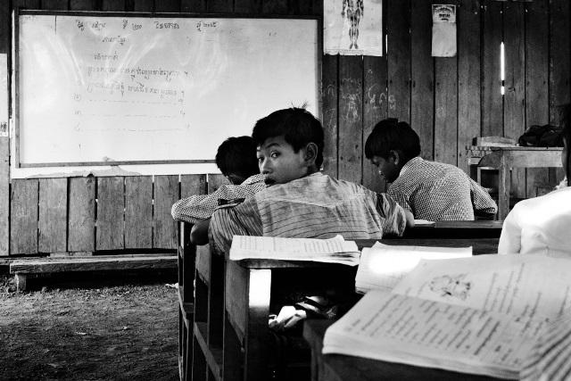 scuola in Cambogia