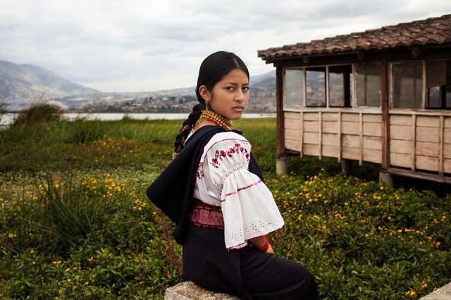 Otavalo,-Ecuador