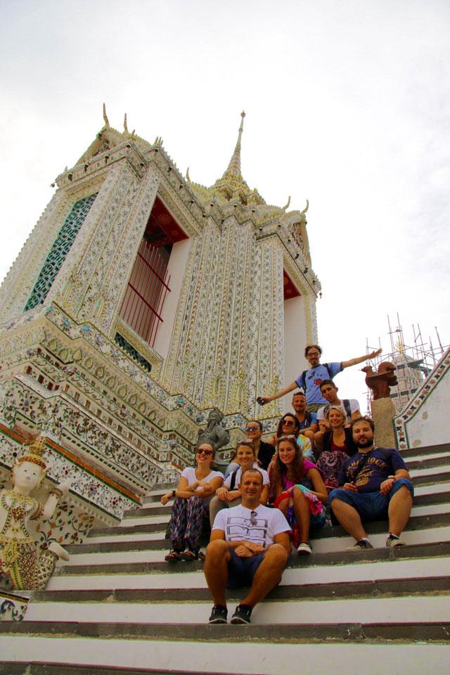 i ragazzi di ARCA ENEL a Bangkok