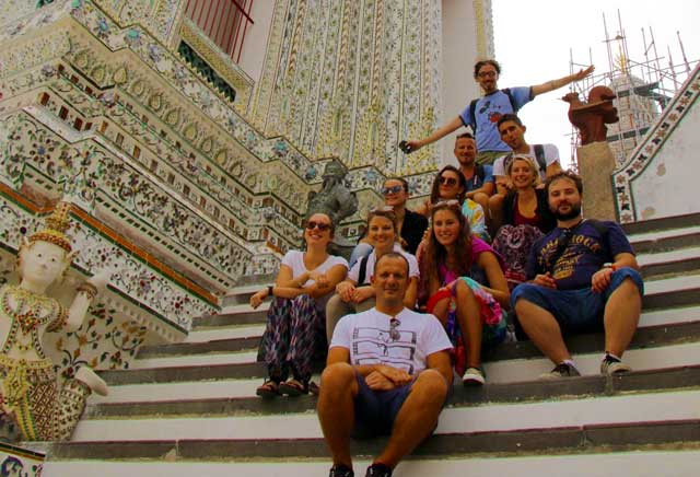 Giovani ARCA Enel in viaggio a Bangkok in Thailandia