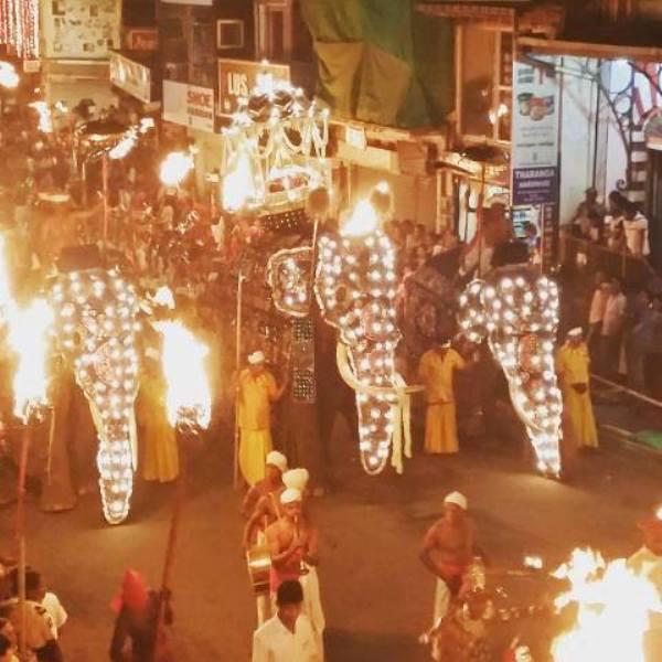 @ Esala Perahera Festival, Dambulla
