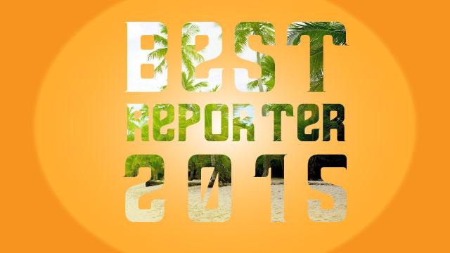 concorso best reporter 2015