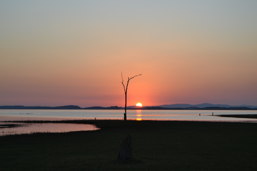Lago di Kariba, lato Zimbabwe